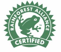 Selo Rainforest Alliance