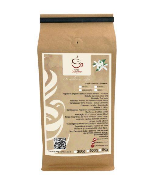 Imagem do café moído da fazenda Boa Sorte