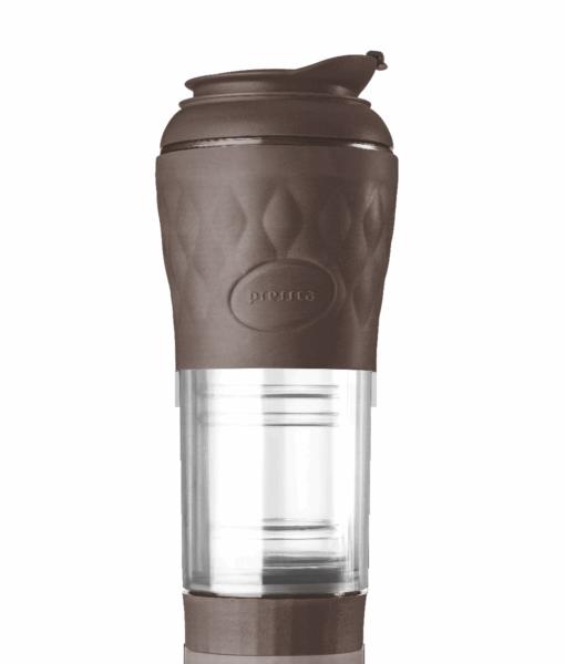 cafeteira pressca marrom