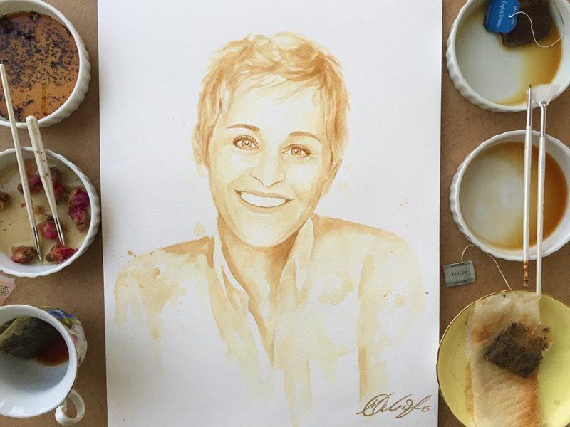 pintura café 2 Maria