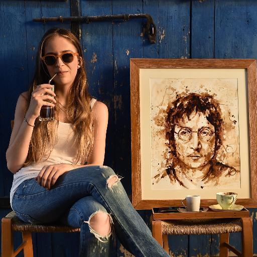 pintura café 1 Maria
