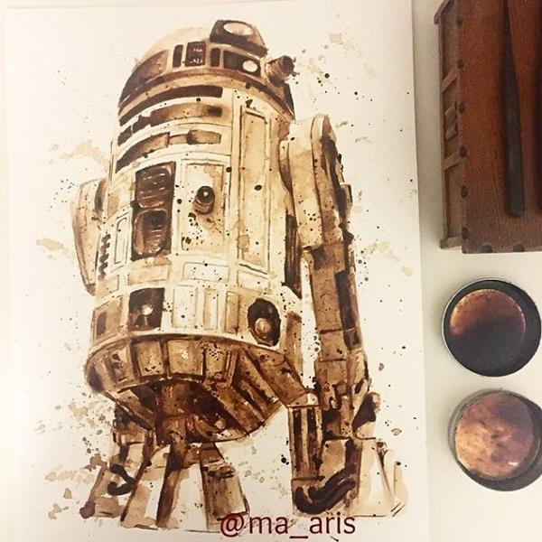 pintura café 3 Maria