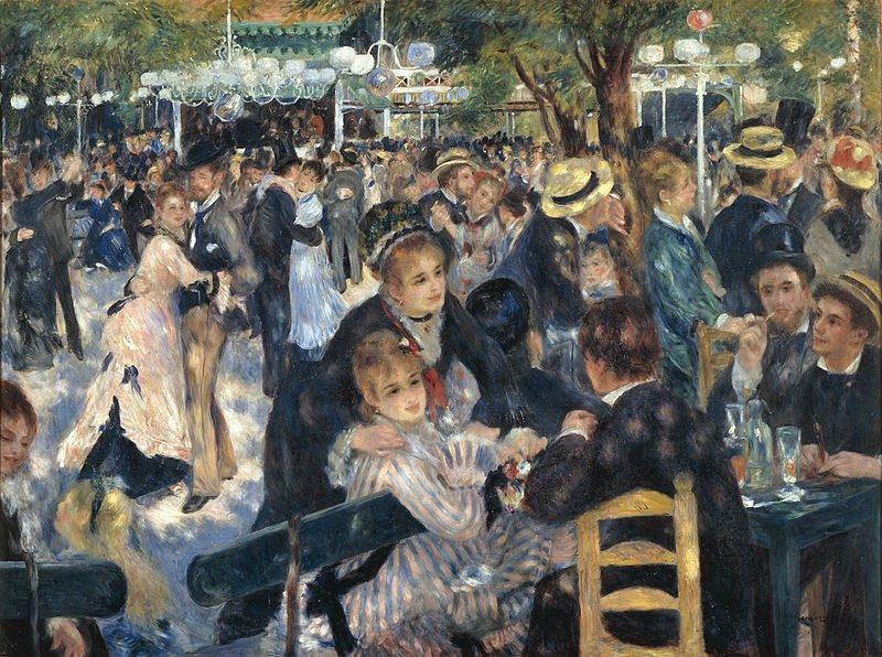 imagem O Baile no Moulin de la Galette