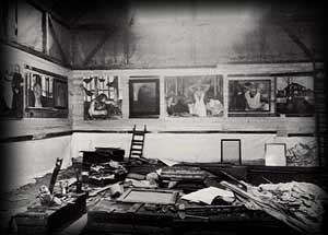 imagem Estúdio de Munch