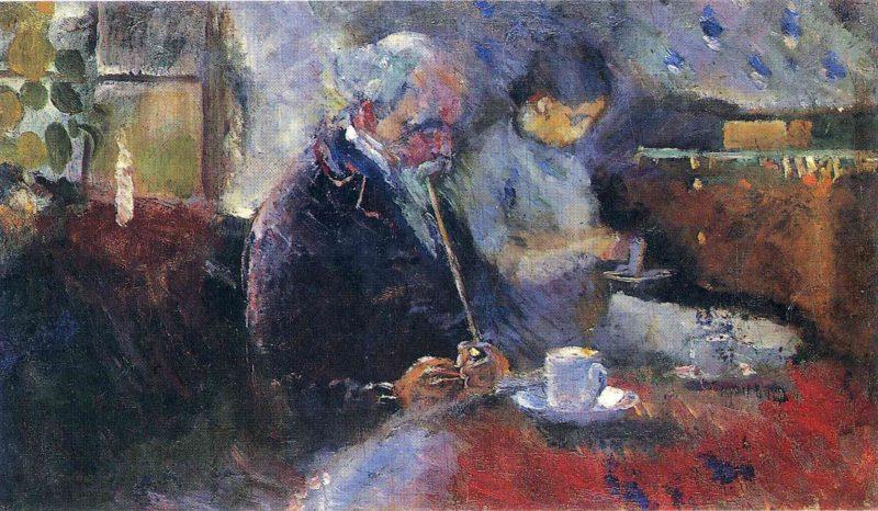 imagem Na mesa de café