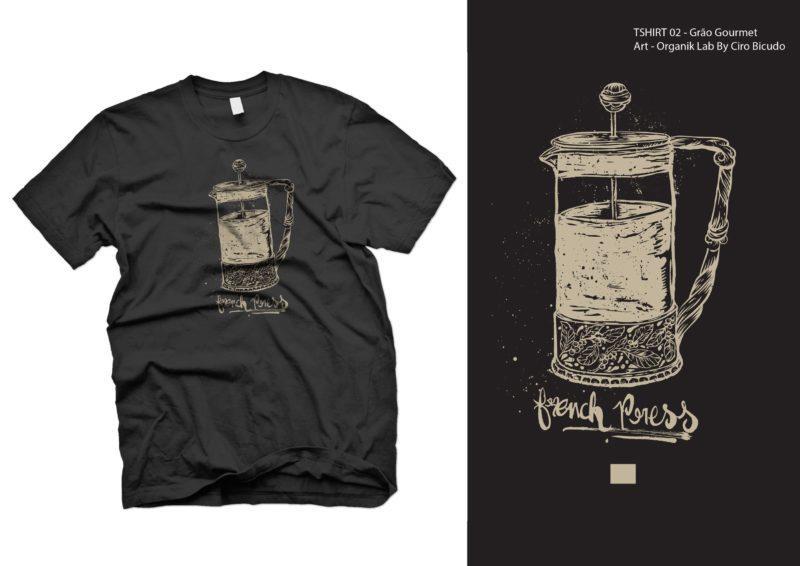 camiseta french press